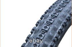 1 PAIR(2PCS) Maxxis Crossmark MTB Tyres. 26 x 2.10 Black Mountain Bike Tires