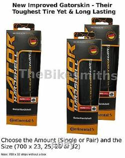 1or 2Pk Continental Gator Hardshell Duraskin Gatorskin 700 23 25 28 32 Bike Tire