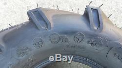 2 18X8.50-8 4P OTR Lawn Trac Tires Lug R-1 R1 PAIR AG 18x8.5-8