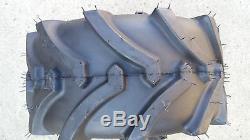 2 18X8.50-8 4P OTR Lawn Trac Tires Lug R-1 R1 PAIR AG 18x8.5-8 FREE SHIPPING