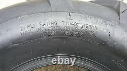 2 18x9.50-8 2P OTR FieldMaster Tires Lug AG PAIR 18x9.5-8