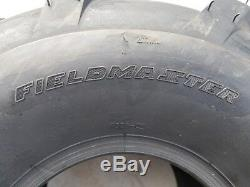 2 20x10.00-8 4P PAIR OTR FieldMaster Lug AG Tires 20x10-8 20x10.0-8 Free Ship