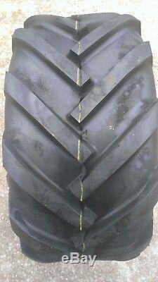 2 23X10.50-12 Deestone D405 6P Super Lug Tires AG 23x10.5-12 FREE SHIPPING AG
