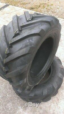 2 23X10.50-12 Deestone D405 6P Super Lug Tires AG 23x10.5-12 Tractor Traction