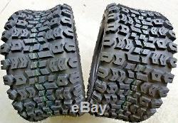2 23x10.50-12 4 Ply Kenda K502 Terra Trac ATV Turf Mower Tires 23x10.5-12