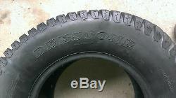 2 24x12.00-12 6 Ply HEAVY DUTY Deestone D838 Turf Master Lawn Mower Tires PAIR