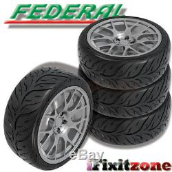 2 Federal 595RS-RR 245/35ZR18 92W Extreme High Performance Racing Summer Tire