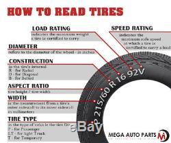 2 Lionhart LH-503 225/40ZR18 92W XL All Season High Performance A/S Tires