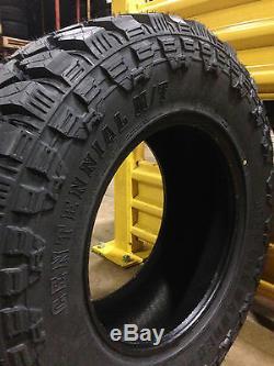 2 NEW 285/70R17 Centennial Dirt Commander M/T Mud Tires MT 285 70 17 R17 2857017