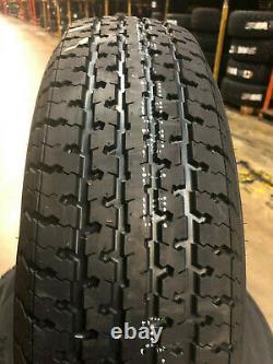 2 NEW ST205/75R15 10 ply Freedom Hauler Radial Trailer Tires LRE 205 75 15 ST