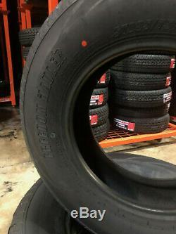 2 NEW ST205/75R15 Freedom Hauler Trailer Tires 8 PLY 205 75 15 ST 2057515 R15 ST
