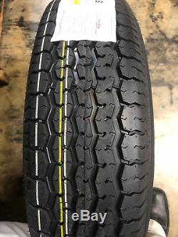 2 NEW ST205/75R15 Mirage Radial Trailer Tires 8 PLY 205 75 15 ST 2057515 R15 ST