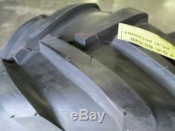 2 New 23x10.50x12 Nanco Super Lug Tires 4 Ply 23 10.50 12 Lawn Mower Tractor