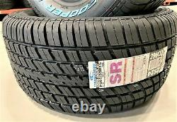 2 New Cooper Cobra Radial G/T 295/50R15 105S A/S All Season Tires