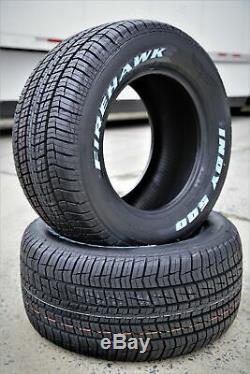 2 New Firestone Firehawk Indy 500 295/50R15 105S XL Performance All Season Tires