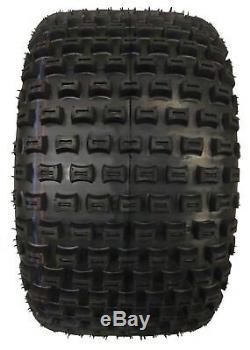 2 New Sport ATV Tires 22X11-8 22x11x8 Dimple Knob 10026 DURABLE 4PR DEEP TREAD
