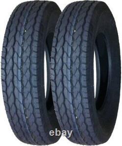 2 New Trailer Tire Free Country 175 80 13 ST175/80D13 1758013 Bias 6PR B78-13