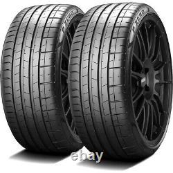 2 Pirelli P Zero (PZ4) 245/45R20 103W XL Performance Run Flat Tires