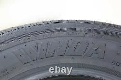 2 Premium WINDA Radial Trailer Tires ST205/75R15 8PR Load Range D with Scuff Guard