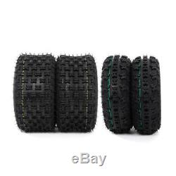 21x7-10 & 20x10-9 ATV TIRE Set of 4 for HONDA TRX 300EX 400EX 400X 450R New