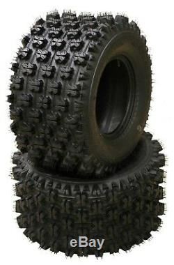 22x10-9 22x10x9 Set 2 New Sport ATV Tires RAZR Ambush Style 4PR 10263 GNCC Race
