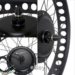 26 1000W 48V Electric Bike Fat Tire Front Wheel Bicycle Motor Conversion Kit