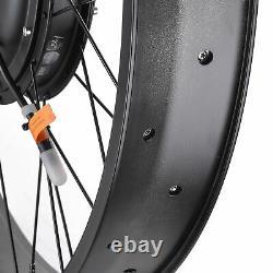 26 48V Front Wheel Electric Bicycle e-Bike Motor Conversion Kit Fat Tire 1000W