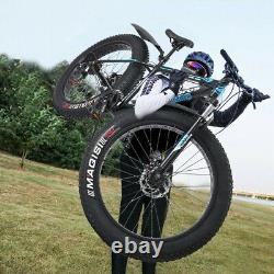 26-inch 4W Fat Tire Mountain Bike 21-Speed Bicycle High-Tensile Steel Frame A