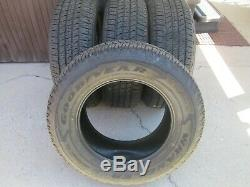 265 65 18 GOODYEAR WRANGLER FORTITUDE H/T P265/65R18 Tires new take offs set 4