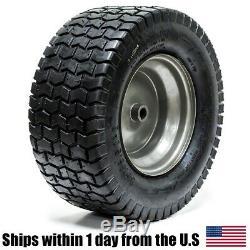2PK 16x6.50-8 16/6.50-8 Turf Tire Riding Mower Tractor Rim Wheel Assembly