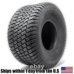 2PK 20X10.00-8 4 Ply Tubeless Turf Tire Tractor Riding Mower Pair Set 20x10x8