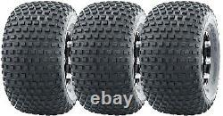 3 New WANDA ATV Tires 22X11-8 22x11x8 4PR for 3 wheelers 10032 Warranty Fast