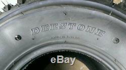 3 (THREE) 22x11.00-8 D-929 ATV Knobby Tires DS7321 22x11-8 22/11-8 FREE SHIP