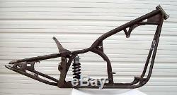 300 Tire Drop Seat Softail Motorcycle Chopper Frame for Evo Style Motors