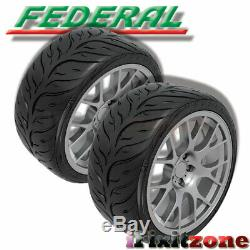 4 Federal 595RS-RR 205/50ZR15 89W UHP Extreme Performance Racing Summer Tire