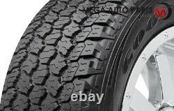 4 Goodyear Wrangler All Terrain Adventure WithKevlar 245/75R17 112T 60K MILE Tires