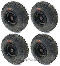 (4) KNOBBY TIRES 145X70-6 145/70-6 ATV Go Cart Kart Mini Bike 50 90 110cc Engine