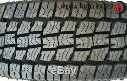 4 Lexani Terrain Beast AT LT265/75R16 123/120S All Terrain All Season Truck Tire