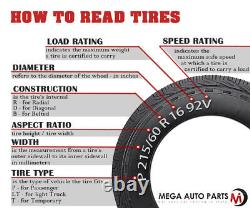 4 Lionhart LH-501 205/45ZR16 87W XL All Season Traction Performance Tires