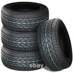 4 Lionhart LH-TEN 255/55R18 109W XL All Season M+S Performance SUV/Pickup Tires