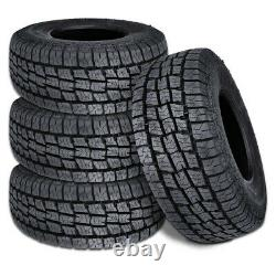 4 Lionhart LIONCLAW ATX2 LT265/70R16 121/118S 10P M+S AS All Terrain Truck Tires
