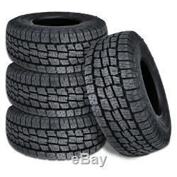 4 Lionhart LIONCLAW ATX2 LT265/75R16 123/120S 10P AS M+S All Terrain Truck Tires