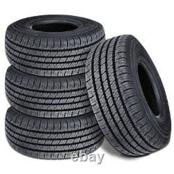 4 Lionhart Lionclaw HT P235/65R17 103T All Season Highway SUV CUV Truck A/S Tire