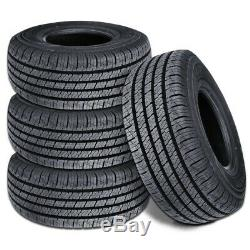 4 Lionhart Lionclaw HT P245/70R16 106T All Season Highway SUV CUV Truck A/S Tire