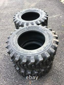 4 NEW 12-16.5 Skid Steer Tires 12 PLY- Camso sks332-For Bobcat & more-12X16.5