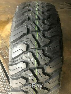4 NEW 235/75R15 Accelera M/T Mud Terrain Tires MT 235 75 15 R15 2357515