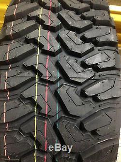 4 NEW 245/75R16 Centennial Dirt Commander M/T Mud Tires MT 245 75 16 R16 2457516