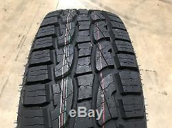 4 NEW 255/70R16 Crosswind A/T Tires 255 70 16 2557016 R16 AT 4 ply All Terrain