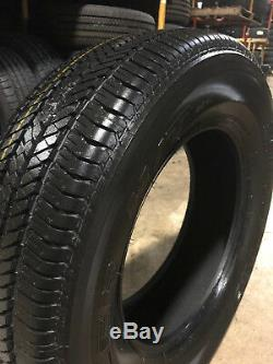 4 NEW 255/70R18 Bridgestone 684II Tires 255 70 18 2557018 R18 Factory Take Offs