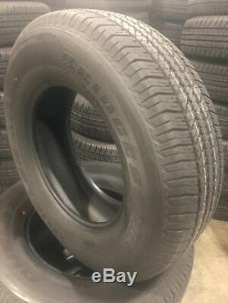 4 NEW 265/70R17 Bridgestone HT 684 II Tires 265 70 17 2657017 R17 Factory Tires